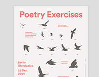 Poetry Exercises - Poster