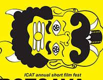 Poster Design For iCAT collage, India