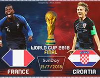 World Cup 2018 final Promo France VS Croatia