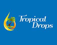 Tropical Drops Fruit Juice Labels