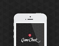 Mobile App | GameCheck #app #game #design #ui #ux
