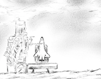 Space Shuttle (storyboard pitch)