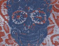 Sugar Skull (Blue), 2015