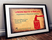 MNHS Lumber Industry Poster
