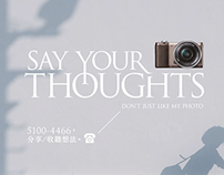 Say Your Thought  - Sony A5100