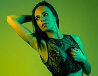 Neon Lights - Yellow/Green
