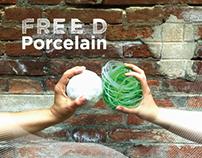 Free D Porcelain 2015 // Progetto grafico