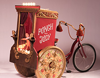 Punch and Judy Altered Bike