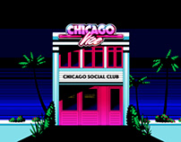 Chicago Vice - panorama illustrations