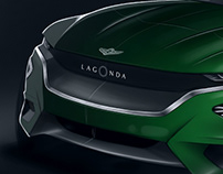 Aston Martin Lagonda SUV (video)