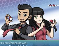 Pokémon Trainers Dream Couple (Fanart)