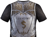 Games of throne t-shirt for hbo contest.
