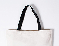 Typography Tote Bags 1