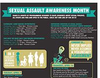 Sexual Assault Awareness Month Calendar