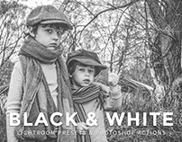10 Free Black and White Lightroom Presets