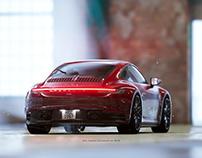 UE4 Porsche 911