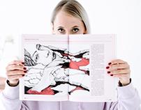 Illustration for February issue of Znak Magaizne