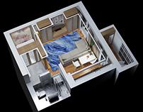 Дизайн квартиры в Астане