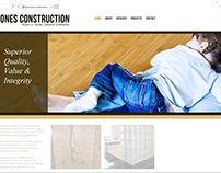 Web Design & Hosting -  Kevin Jones Construction