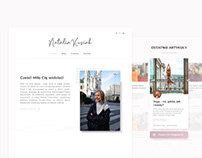 Natalia Kusiak - website