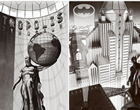Metropolis & Gotham locations 1