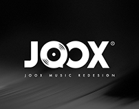 JOOX MUSIC Redesign Concept
