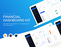 Financial Dashboard UI Kit