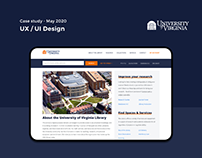 UX / UI - Unversity of Virginia Library