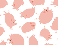Pig Sleepwear for Girls
