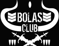 Bolas Club Logo and Merchandise designs