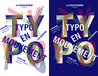 Exposition Typo en mouvement - Le lieu du design
