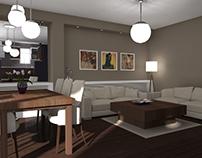 Interior Design, 3D visualization