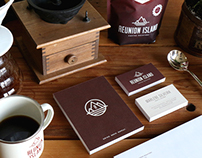 Reunion Island Coffee Roasters Branding