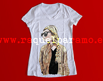 T-shirts with my illustrations