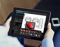 Digital Paint Booth - 3D Automotive App Design - 2010