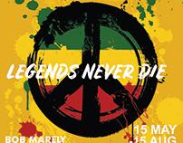 Bob Marley Exhibition Poster