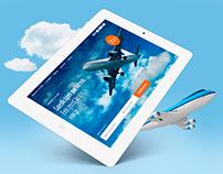 Parkeren Schiphol.com webdesign