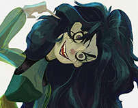 "Bellatrix Lestrange, ""Harry Potter"" for the CDC"