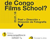 Dirección gráfica de CONGO FILMS SCHOOL