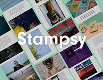 Stampsy — a blogging platform for the visual thinkers.