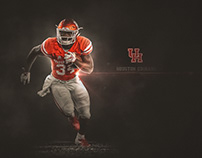 Houston Football Desktop Wallpaper: by Brett Gemas