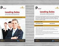 Sales Enablement Programs Flyers | MEHRAT Egypt