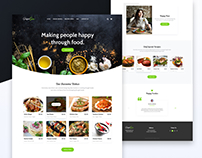 Landing Page For Perfect Spice