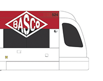 BASCO Transit - MAX Trains and Delivery trucks