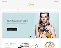 Sperky - Minial design eCommerce theme