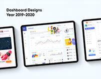 Dashboard Designs 2019-2020