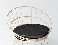 A minimal, comfortable, light furniture family: RADA