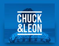 Chuck & Leon Branding