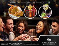 HORAS FELICES BAR 360° / HOTEL CASABLANCA
