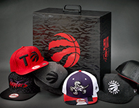 Toronto Raptors x New Era Hat Collection Package